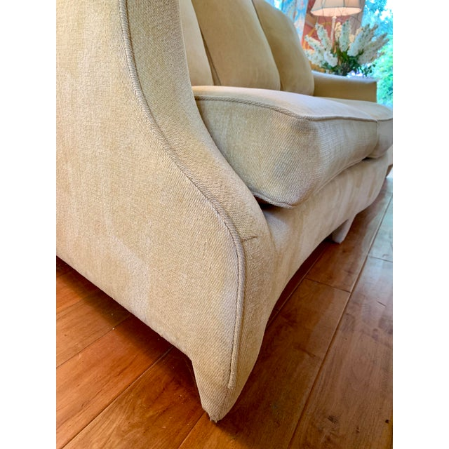 1990s John Hutton for Donghia Ogee Sofa For Sale - Image 5 of 10