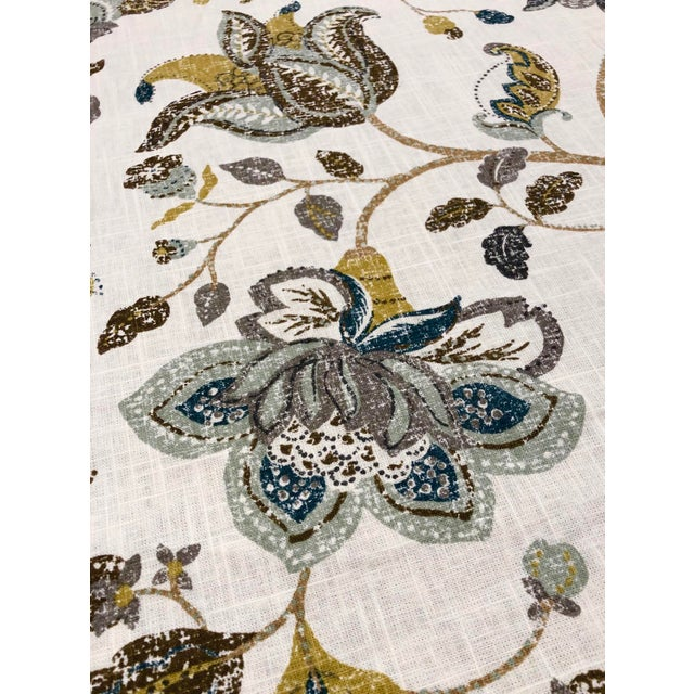 This printed botanical from Robert Allen is a whimsical and colorful print for drapery or light upsholstery use. The...