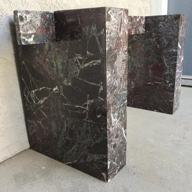 Italian Marble Dining Table Base - Image 11 of 11