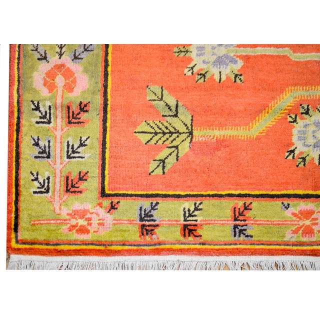 Wonderful Early 20th Century Samarkand Rug For Sale In Chicago - Image 6 of 8