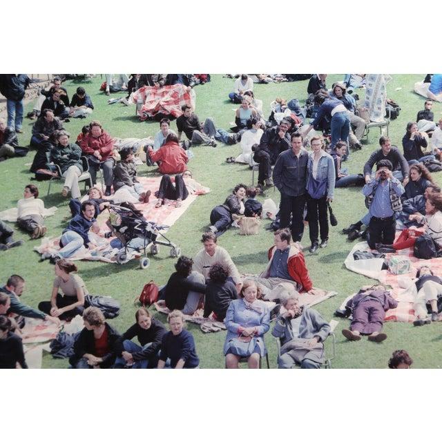"2000 - 2009 Massimo Vitali, ""Picnic Allee"", Photograph For Sale - Image 5 of 6"