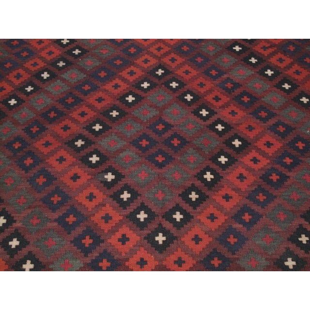 Large Afghan, Uzbek Kilim For Sale - Image 4 of 6