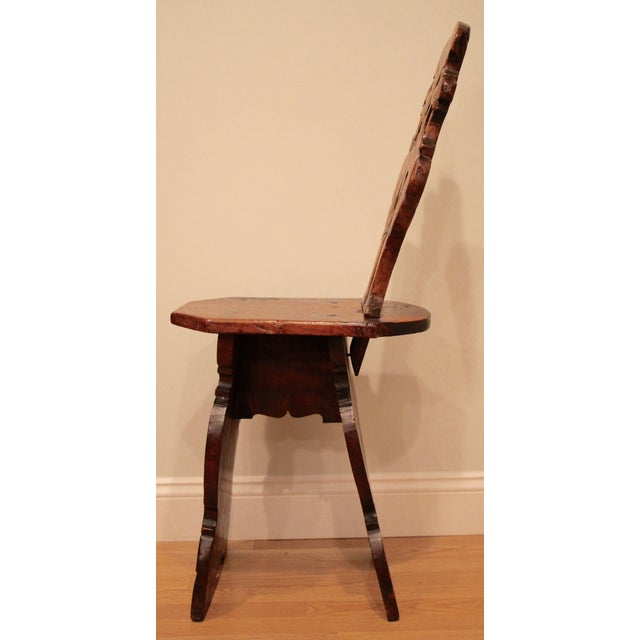 19th-Century Sgabello Chair - Image 3 of 7