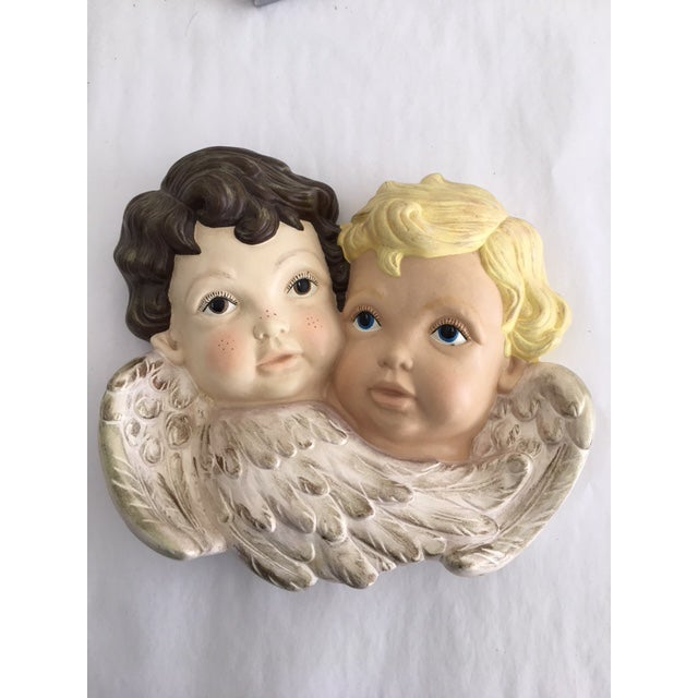 """Sweet Faces"" Cherub Plaque - Image 6 of 6"
