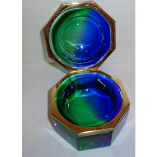 Mid Century Murano Sommerso Glass Box Preview