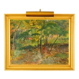 Image of Post Impressionist Framed Landscape Painting by T Gauguin For Sale
