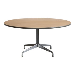 Herman Miller Oak Dining Table