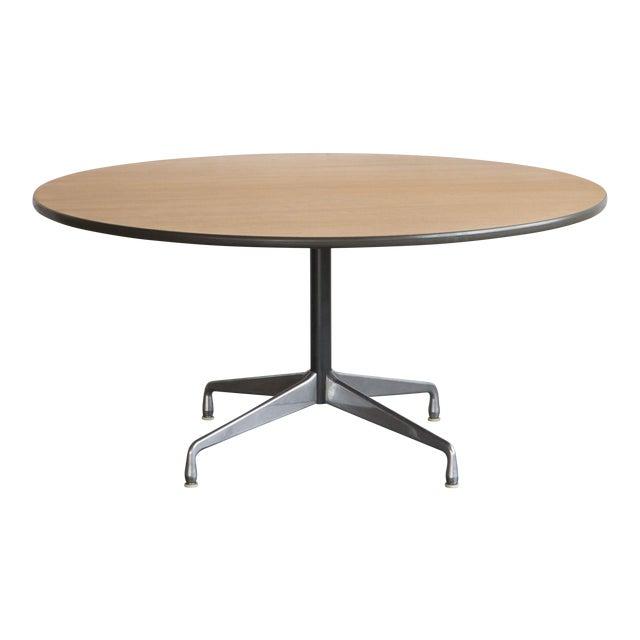 Herman Miller Oak Dining Table - Image 1 of 5