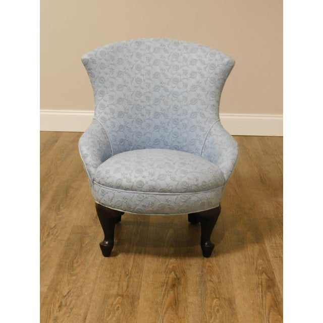 Victorian Antique Victorian Childs Slipper Chair For Sale - Image 3 of 13