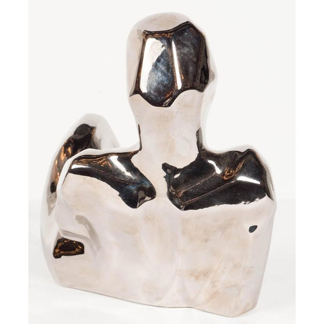 Ceramic Rare Mid-Century Modernist Figurative Ceramic Sculpture by Jaru For Sale - Image 7 of 9