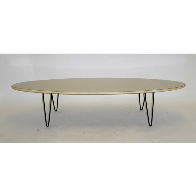 Contemporary Mid-Century Modern Long Surfboard Cocktail Coffee Table C. 1950s For Sale - Image 3 of 13