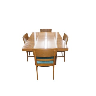1950s Mid-Century Modern Morris of California Dining Set - 5 Pieces For Sale