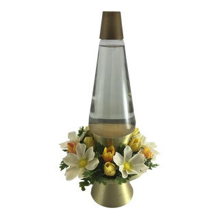 Vintage Elegant Enchantress Planter Lava Lamp