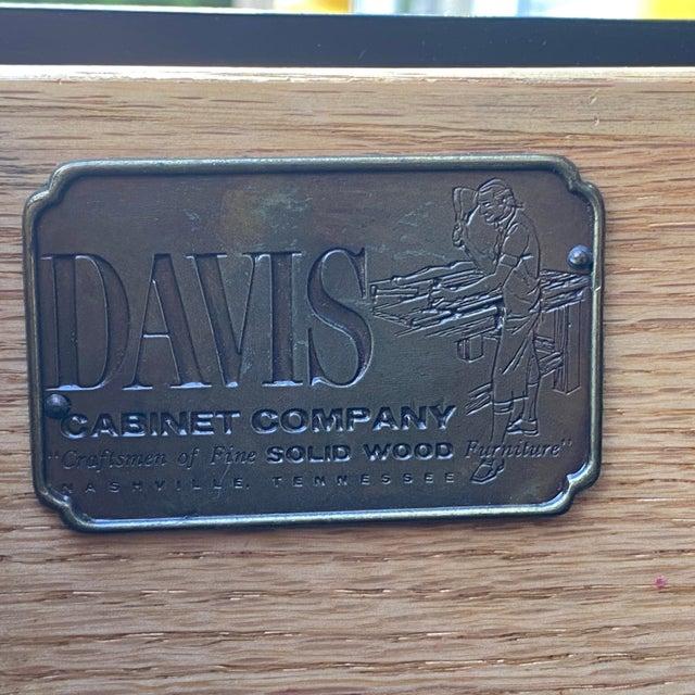 Metal Davis Cabinet Company Asian Modern China Closet For Sale - Image 7 of 13