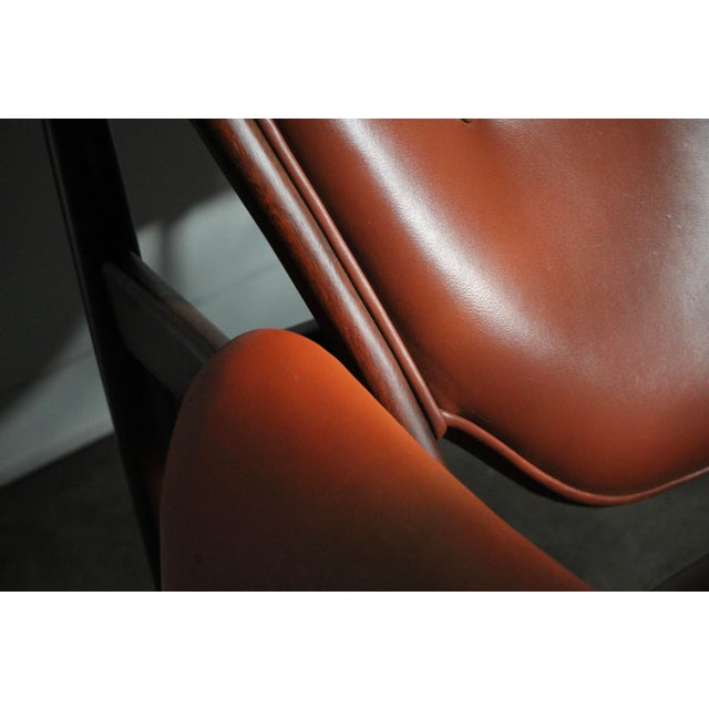 1990s 1990s Finn Juhl Chieftain Chair in Mahogany by Interior Crafts For Sale - Image 5 of 8