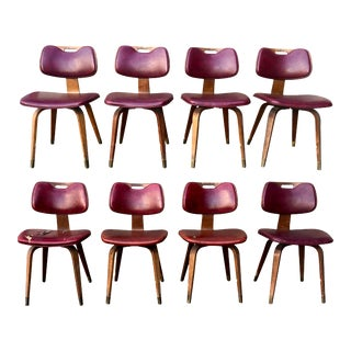 Vintage Thonet Bentwood Chairs - Set of 8 For Sale