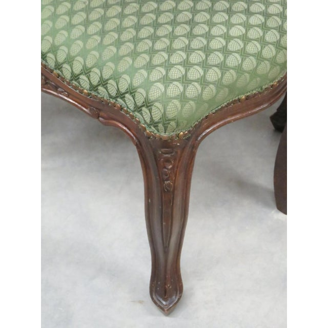 Antique Italian Carved Footstools - a Pair - Image 5 of 5