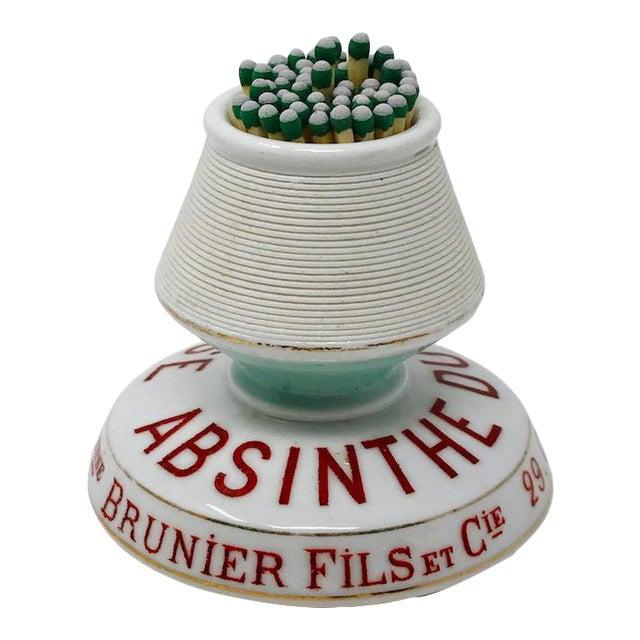 Vintage Absinthe Match Striker Keeper For Sale