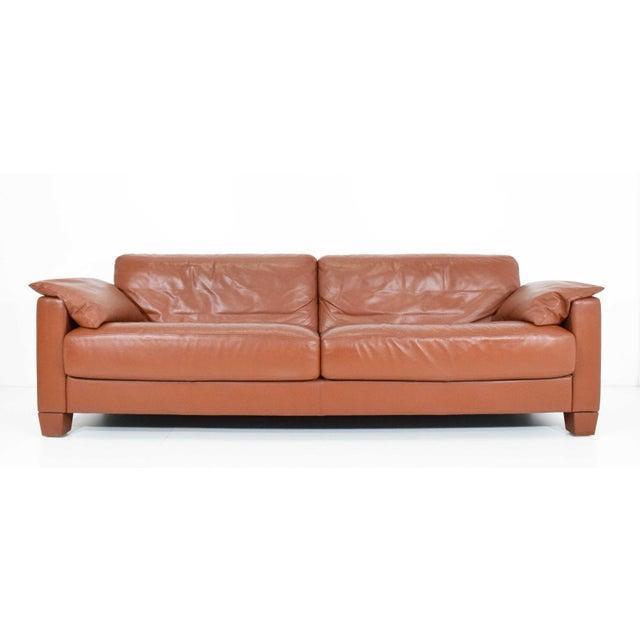 1990s Vintage De Sede Leather Sofa For Sale - Image 11 of 11