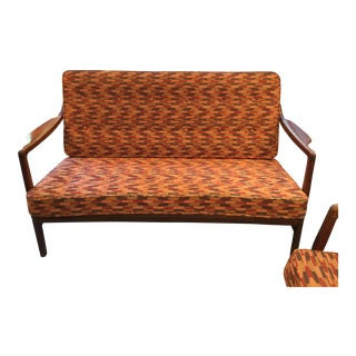 Tove and Edvard Kindt-Larsen Settee For Sale