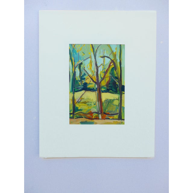 """""""Spring Forest"""" Painting by Martha Holden - Image 3 of 6"""