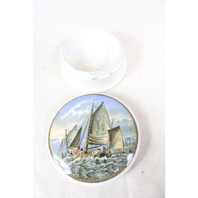 English Traditional English Pot Lid on Base For Sale - Image 3 of 5