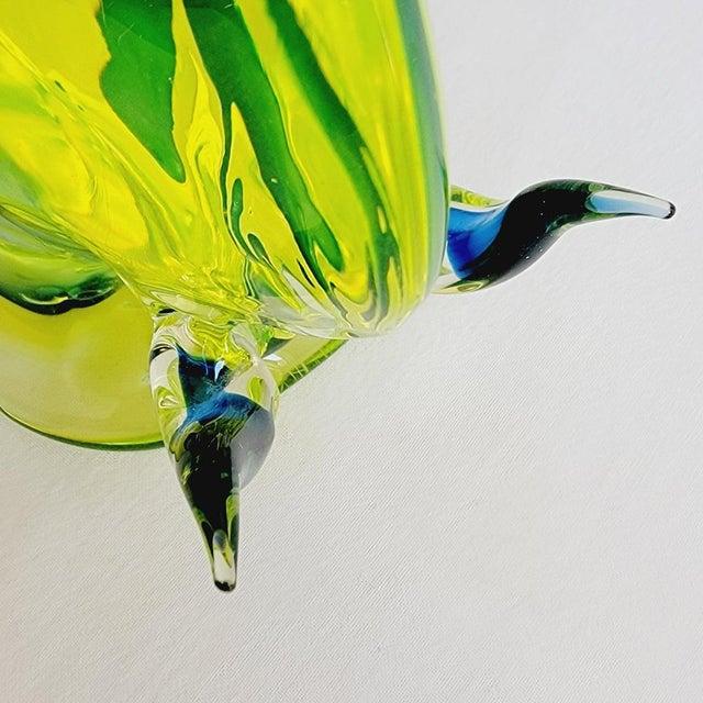 1960s Da Ros for Cenedese Murano Glass Bull For Sale In Miami - Image 6 of 9