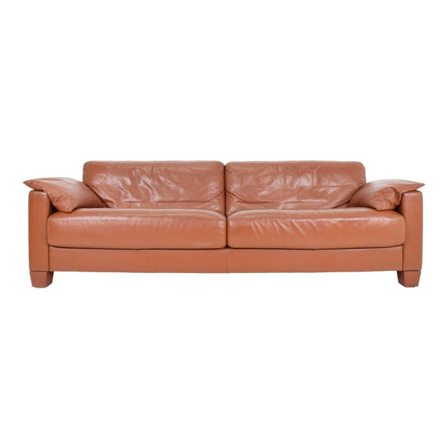 1990s Vintage De Sede Leather Sofa For Sale