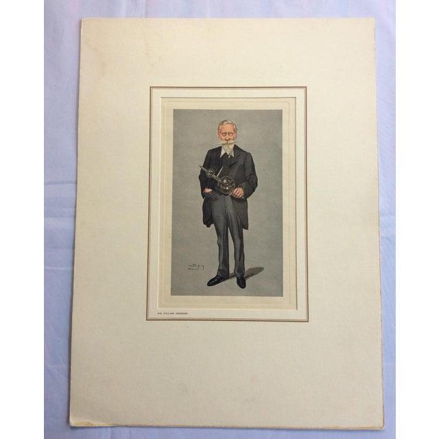 Vanity Fair Prints of Scientists for Petrolagar Laboratories - Set of 7 For Sale In Philadelphia - Image 6 of 10