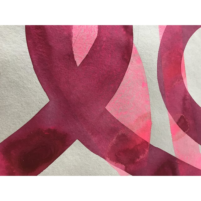 Pink on Pink Painting - Image 2 of 3