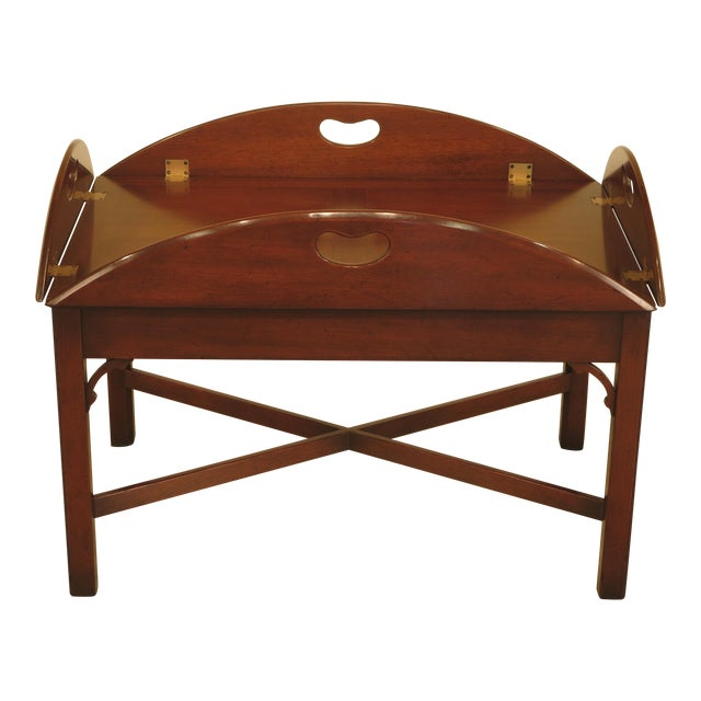Kittinger Chippendale Mahogany Butler Coffee Table - Image 1 of 11