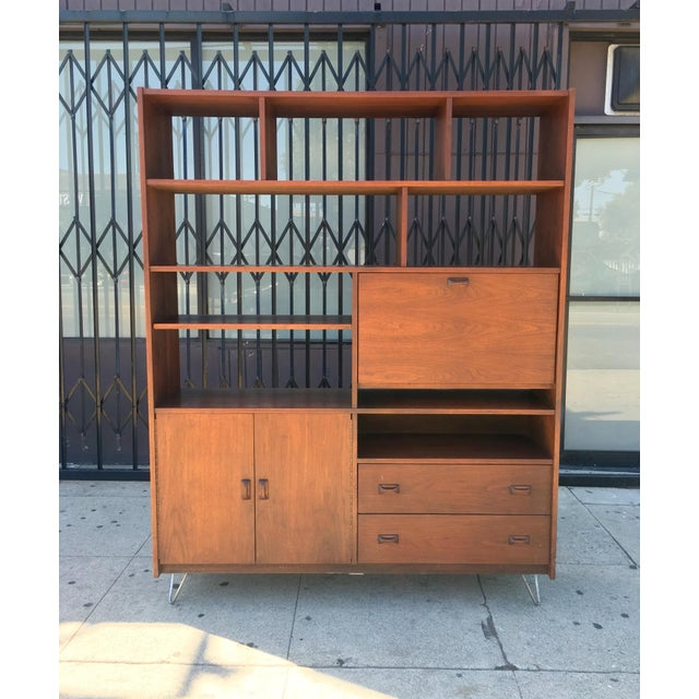 Horner Manufacturing Mid Century Wall Unit - Image 2 of 10