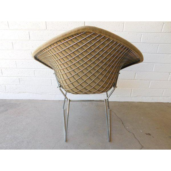 Original Bertoia Diamond Wire Chair in Chrome by Knoll - Image 7 of 9