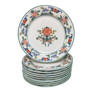 Syracuse Fusan Butterfly Salad Dessert Plates - Set of 10 For Sale