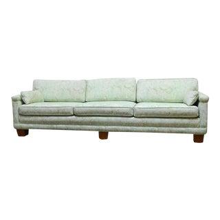 Mid-Century Modern Sofa in Fortuny Fabric