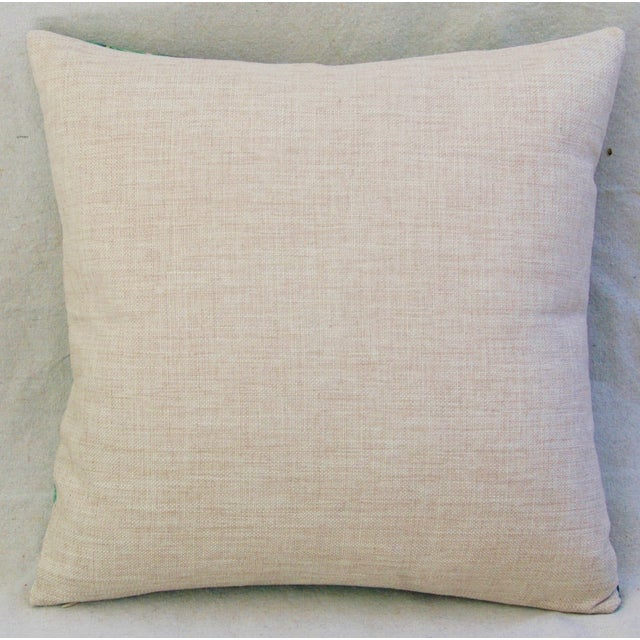 Dorothy Draper-Style Banana Leaf Pillows - A Pair - Image 6 of 10
