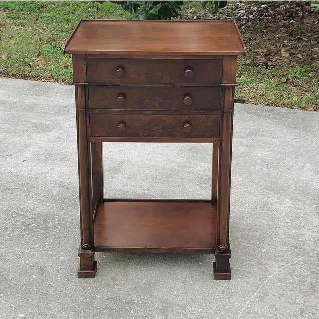 19th Century French Charles X Nightstand For Sale - Image 4 of 12