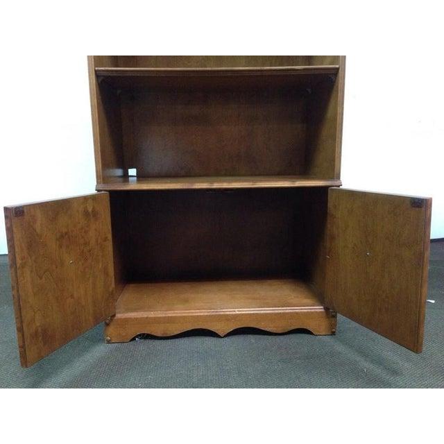 Antique Carved Oak Bookcase - Image 4 of 4