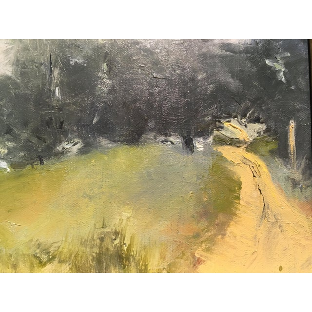 """Oil on canvas painting by Sue Calahan entitled """"Morning Mist"""""""