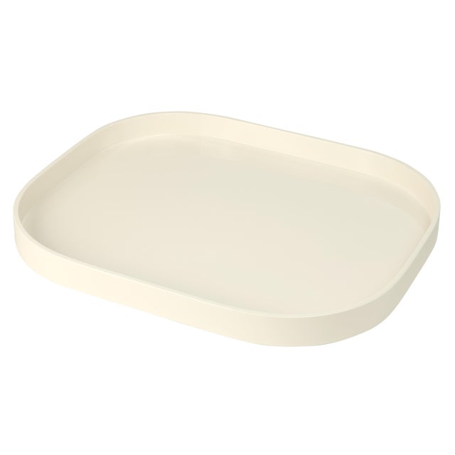 Not Yet Made - Made To Order Miles Redd Collection Large Stacking Tray in Ivory For Sale - Image 5 of 5