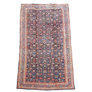 Orange & Violet Hamadan Carpet - 13′5″ × 20′5″ For Sale