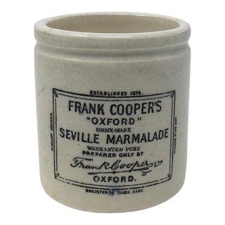 "English Transferware Frank Cooper's ""Oxford"" Seville Marmalade Pot For Sale"