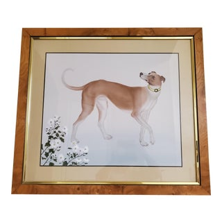 Vintage Soicher-Marin Print in Custom Frame For Sale