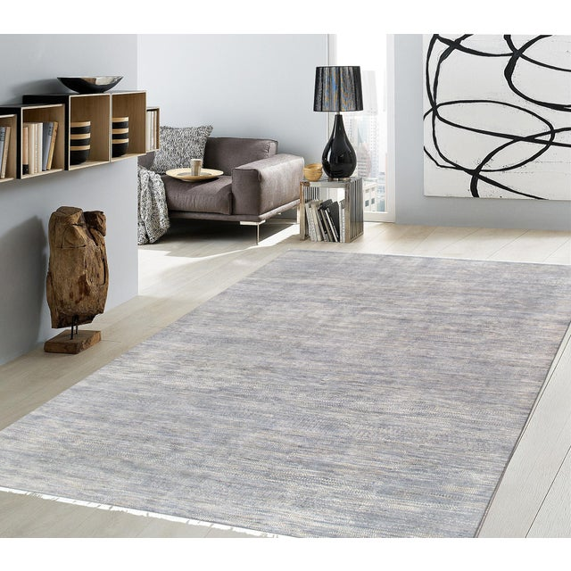 """Pasargad Transitional Silk & Wool Area Rug - 10' 0"""" x 14' 2"""" - Image 2 of 2"""
