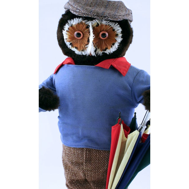 English Traditional Abercrombie & Fitch Owl Golfer For Sale - Image 3 of 3