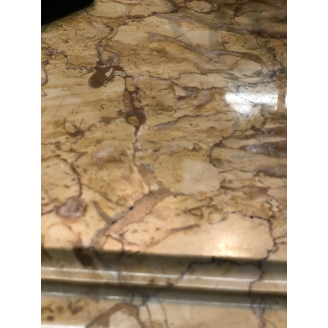 French Regency Marble Top Enfilade For Sale In Atlanta - Image 6 of 7