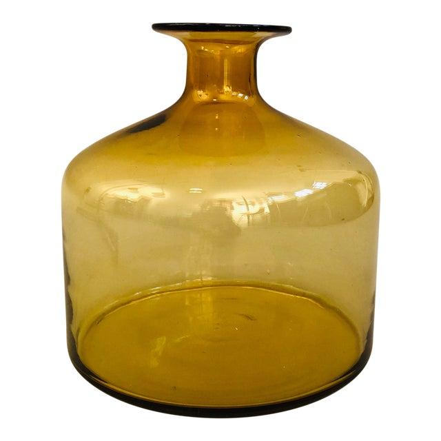 Holmegaard Glass Vase For Sale