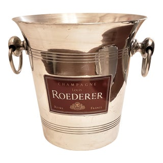 Mid-Century French Roederer Champagne Bucket For Sale