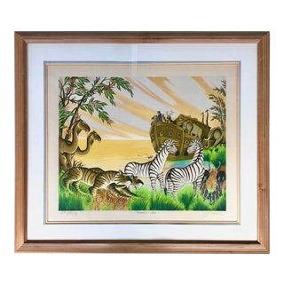 Gustavo Novoa Noah's Ark Ap Lithograph For Sale