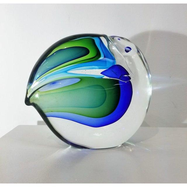Cenedese 1960s Vintage Antonio Da Ros Murano Glass Toucan For Sale - Image 4 of 9